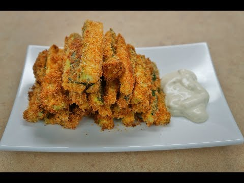 Low Carb Keto Coconut Zucchini Fries (2g net carb)