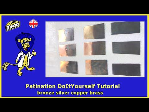 Tifoo Patination - blacken/patinate yourself copper, brass, silver, etc.