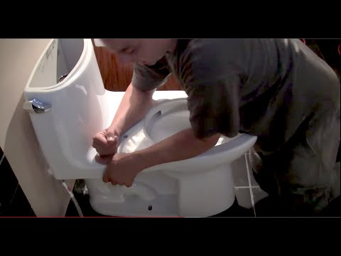 How to Install a Toliet Step by Step