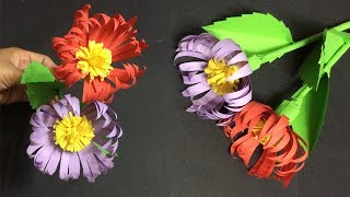 How to make daisy paper flowers making beautiful paper flower diy how to make paper flower making paper flowers step by step diy paper crafts mightylinksfo