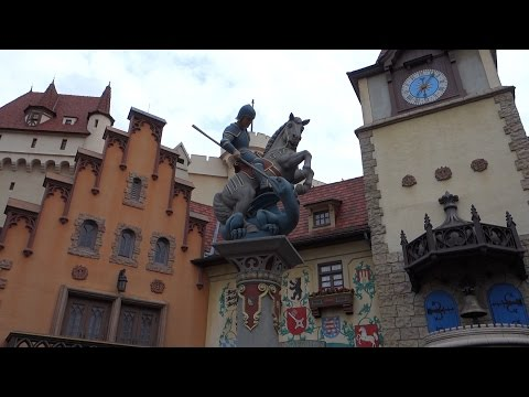 Walking Around Disney's Epcot & The Epcot Resorts!!!