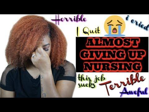 Giving Up on Nursing| Nurses Week| #ExperienceTime
