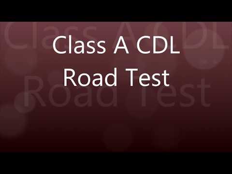 Class A CDL Skills Test