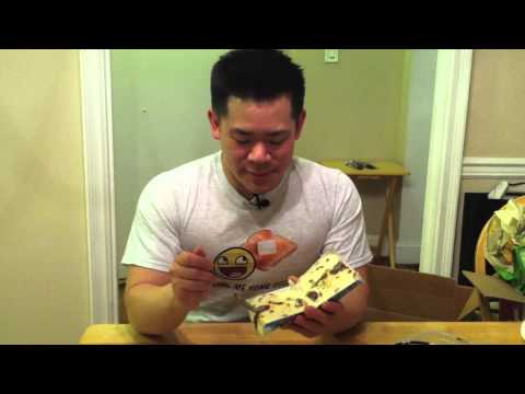 Junk Food Guy Reviews Ben & Jerry's Salted Caramel Core Ice Cream