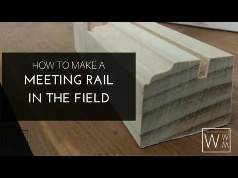 How To Make a Meeting Rail