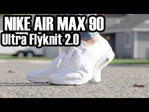 Nike Air Max 2.0 Ultra Flyknit Review in White + ON FOOT