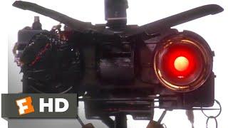 Short Circuit 2 (1988) - Bad Robot Scene (8/10) | Movieclips