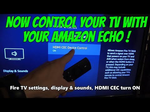 How to control your TV with your Amazon Echo Alexa !