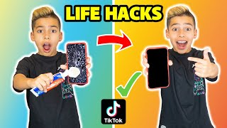 I Tested VIRAL TikTok LIFE HACKS! **THEY WORKED** (Part 4)   The Royalty Family