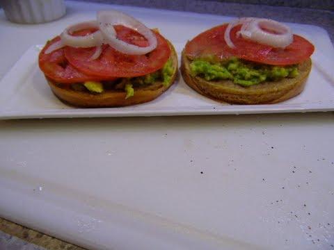 three  minutes simple vegetarian meal