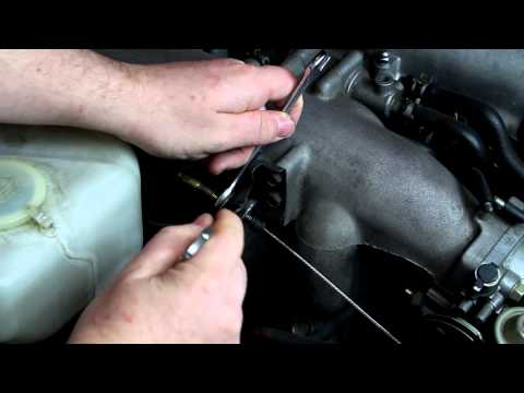 How to: Adjust the accelerator cable
