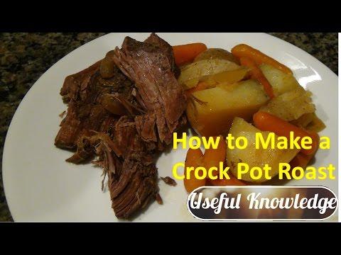 Pot Roast Crock Pot  | UsefulKnowledge