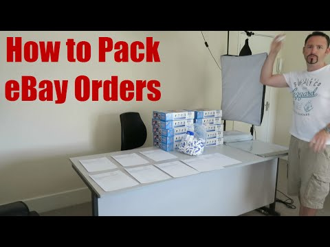 How to Pack eBay Orders