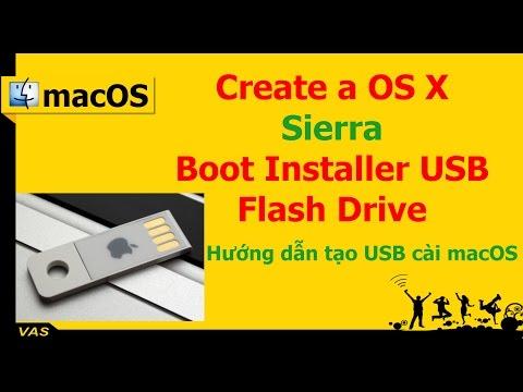 [MacBook - macOS] Create a OS X Sierra 10.12 Boot Installer USB Flash Drive on Windows