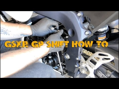 How To: Coverting Your 2006-14 GSX-R 600 To GP Shift