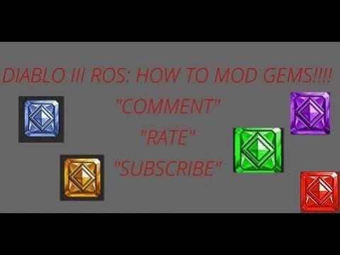 Diablo 3 ROS: How to Mod Gems