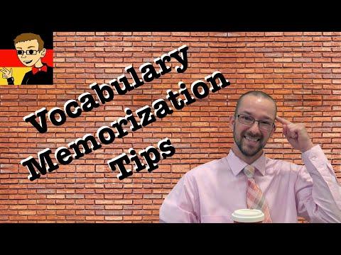 German Vocabulary Memorization Tips - German Learning Tips #11 - Deutsch lernen