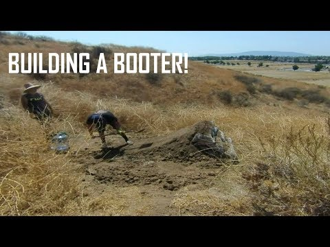 TRAIL BUILDING | BUILDING A BOOTER! | MOUNTAIN BIKE EDIT
