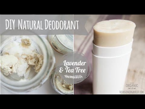 DIY Natural Deodorant l Essential Oils l Young Living