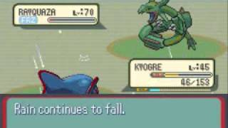 Pokemon Sapphire Walkthrough Part 77: Catching Rayquaza