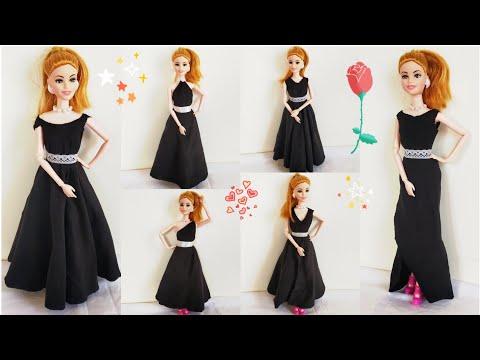 Xxx Mp4 How To Make No Sew No Glue Doll Dresses DIY Barbie Clothes No Sew No Glue Very Easy Barbie Clothes 3gp Sex