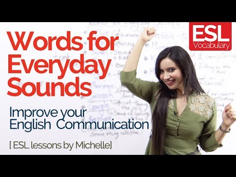 Learn Funny English words for Everyday sounds - Improve your English Communication | Speak Fluent