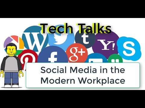 Application for Social Media in the Modern Workplace including Facebook Workplace and Slack