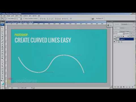 How to Draw Curved Lines in Photoshop