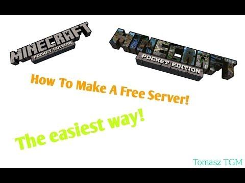 How to make a free Mcpe server(0.9.0+)