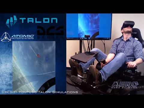 Aero-TV: Immersive & Cost-Effective: Virtual Reality + Motion = Talon Simulators