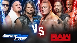 Raw Vs Smackdown Live After Superstar Shake Up 2018 !