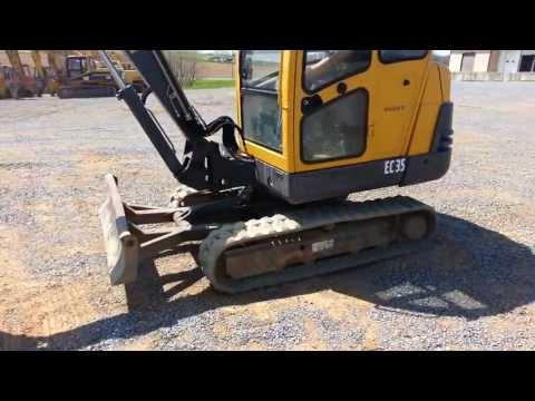 Volvo EC35 mini excavator