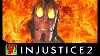 Injustice 2 - Hellboy All Savage Intro Dialogues