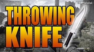 Throwing Knife Final Kill is Back! Call of Duty: Ghosts Gun Game LIVE! (COD Ghost Multiplayer)