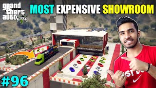 MOST EXPENSIVE SUPERCAR & LUXURY CARS SHOWROOM | GTA V GAMEPLAY #96