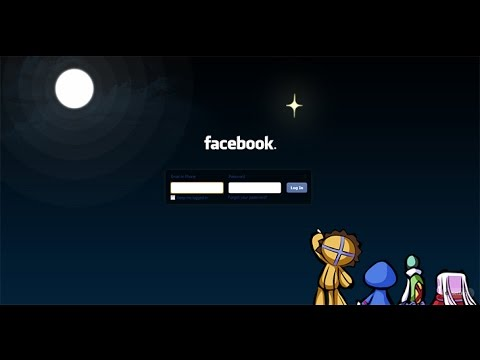 Change Your Facebook Login Screen Background