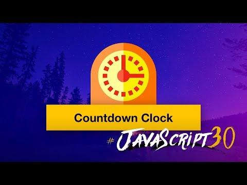 Vanilla JS Countdown Timer - #JavaScript30 29/30