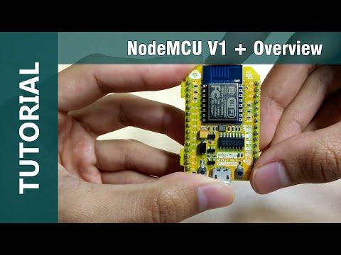 ESP8266 NodeMCU V1 WiFi IOT Arduino IDE Compatible Module Overview