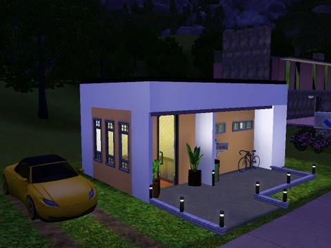 Sims 3 - Very Small Modern House