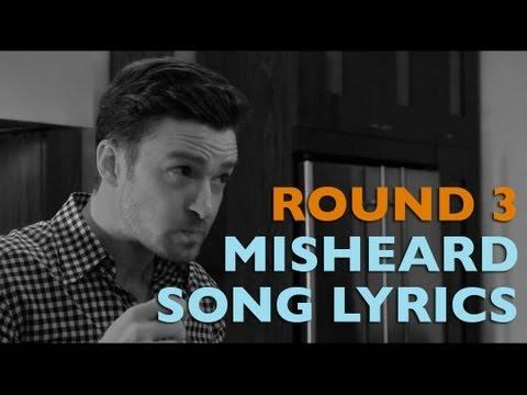 Misheard Song Lyrics Round 3