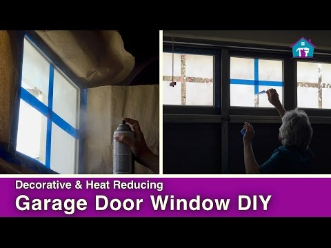 DIY Garage Door Windows