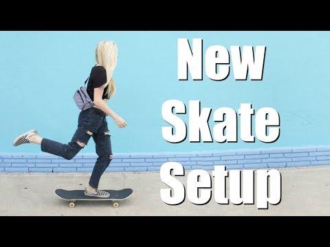 Skate Setup 2018 (Girl Skateboarder)