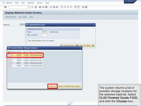 Demo 8.1 Review MRP and Scheduling