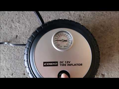 Best Cheap Car Tire Inflator Review Test - Coido