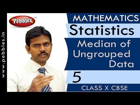 Median of Ungrouped Data| Statistics | Mathematics | CBSE Class 10