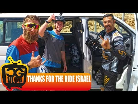 CHILLING IN TEL AVIV - End of my mountain bike trip around Israel with Sam Pilgrim - CG VLOG #321