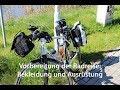Bekleidung und Ausrüstung für die Radwanderung: Tipps zum Packen der Radtaschen