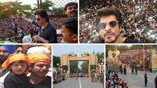 Bollywood King Sharukh Khan at Wagha Border || Latest 2018 26th january pared video at Bagha Border