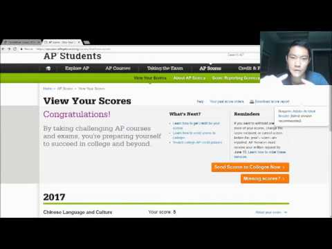 AP Scores Reaction 2017