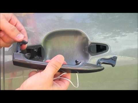 How to Replace a Toyota Sienna Outside Door Handle 2004-2010